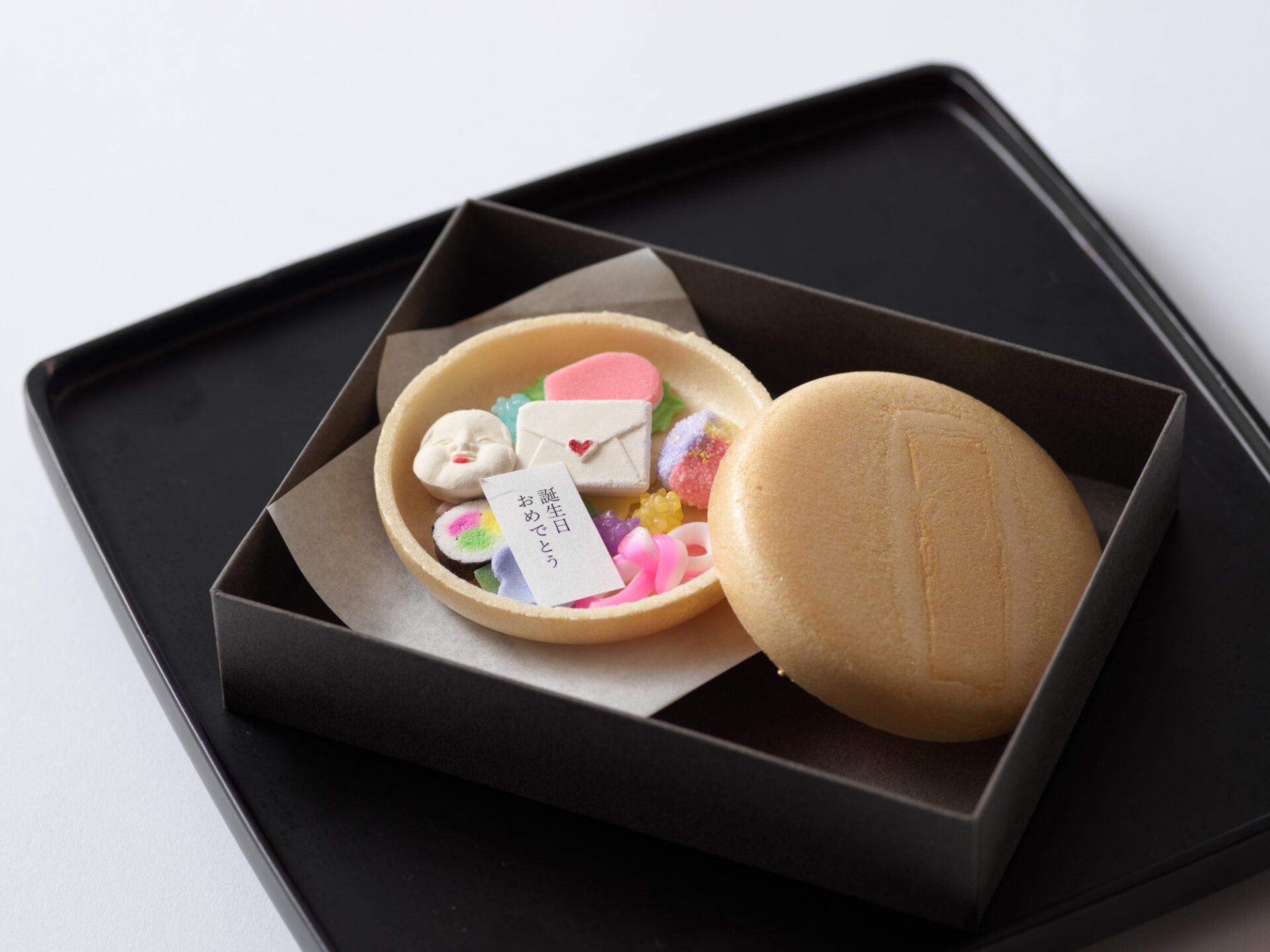 和菓子とお手紙セット